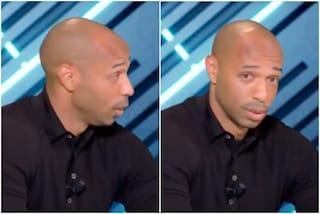 Una sola parola gli basta, Henry distrugge il Tottenham in diretta