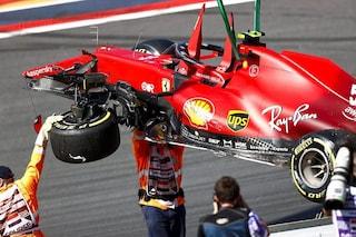"""Sainz stupito dai meccanici Ferrari nelle qualifiche di Zandvoort: """"Non so come hanno fatto"""""""
