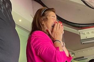 Ronaldo segna, mamma Dolores si commuove: la reazione di Nedved in diretta è ben diversa
