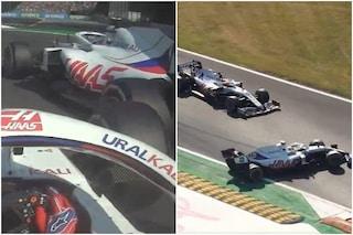 """Mazepin colpisce Mick Schumacher a Monza e si arrabbia: """"Mi è venuto addosso"""". Poi le scuse"""