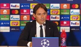 """Inzaghi carica l'Inter in vista dello Shakhtar: """"Partita non ancora decisiva, ma è molto importante"""""""