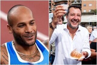"""Jacobs e Matteo Salvini: """"Lo seguo su Instagram per educazione"""""""