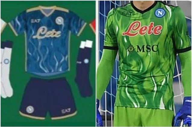 Svelata la terza maglia del Napoli per l'Europa League, è un capolavoro cromatico