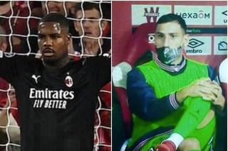 Maignan si è già preso il Milan, mentre Donnarumma fa la panchina con il Psg