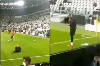 Insulti razzisti a Maignan, la Juve identifica e denuncia il tifoso. Sarà espulso dallo Stadium