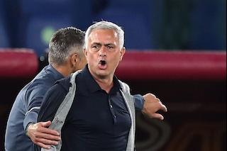 """La Roma vince, Mourinho punge la Lazio: """"Domenica abbiamo perso contro una piccola squadra"""""""