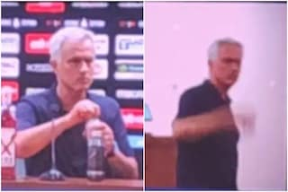 """Mourinho si ribella alla Lazio, in conferenza si alza e se ne va: """"Le modalità mettitele in…"""""""
