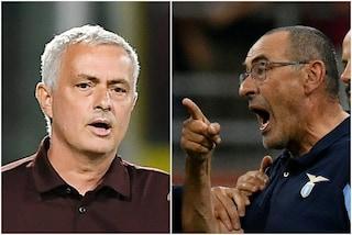 """""""Sarri mi ha portato nel suo ufficio per scusarsi"""": a Roma la rimpatriata con Mourinho"""