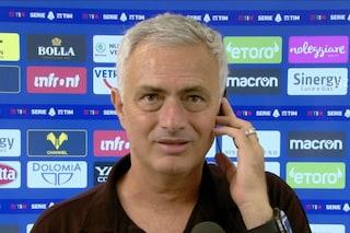 """Mourinho non ha capito cos'è successo alla Roma: """"Ho bisogno di qualche ora di video"""""""