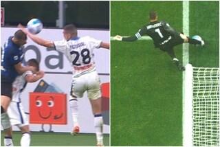 Moviola Inter-Atalanta, gol annullato a Piccoli e rigore per il mano di Demiral: decisioni corrette