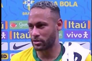 """""""Non sei come Messi"""": la reazione furiosa di Neymar e della sorella tra TV e social"""