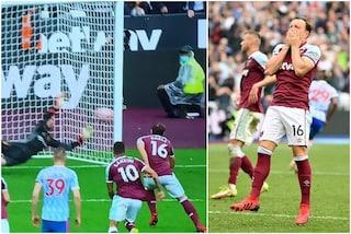 Moyes come Southgate a EURO 2020: fa entrare Noble per il rigore ma il capitano del West Ham sbaglia