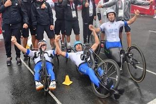 Italia, oro nell'handbike. Vittoria bis alle Paralimpiadi di Tokyo dopo Rio 2016