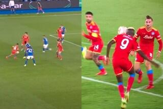 3 tocchi di prima in 3 secondi e Leicester in bambola: la qualità del Napoli è impressionante