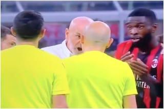 Pioli perde la testa con Cakir: il tecnico del Milan può pagare a caro prezzo un gesto a fine gara