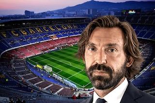 Riunione fiume nella notte per salvare il Barcellona in rovina, spunta un nome: Andrea Pirlo