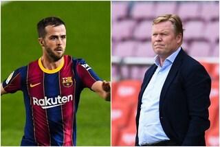 """Tra Pjanic e Koeman volano gli stracci: """"Al Barcellona c'erano giocatori migliori di lui"""""""