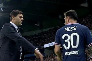 Il debutto di Messi a Parigi finisce male: tensione con Pochettino. E sul più bello arriva Icardi