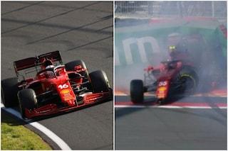 F1, allarme Ferrari dopo le FP3 del GP d'Olanda: Leclerc 9° lontanissimo da Verstappen, Sainz a muro