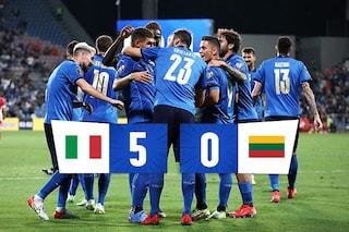Giovani e forti, Italia esagerata con Kean e Raspadori. I Mondiali sono un po' più vicini