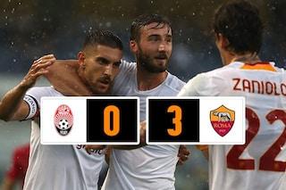 Troppa Roma in Conference League, lo Zorya si arrende ai gol di El Shaarawy, Smalling e Abraham