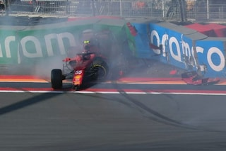 """Sainz, incidente nelle libere al GP d'Olanda: """"Non so cosa sia successo"""""""