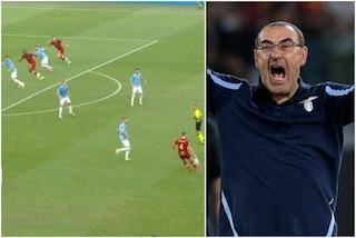 """Sarri attacca Mourinho sugli arbitri: """"Zaniolo in fuorigioco, rigore inesistente"""""""