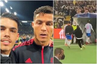 Il selfie del tifoso dello Young Boys è incredibile: Ronaldo non ci capisce nulla e resta inebetito