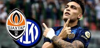 Champions League, Shakhtar-Inter 0-0: Barella prende la traversa, Dzeko sbaglia, l'Inter non vince