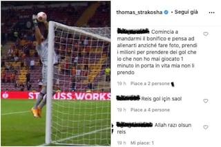 """Invasione di tifosi turchi sul profilo Instagram di Strakosha: """"Grazie fratello"""""""