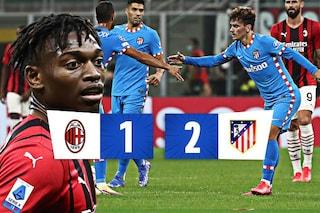 Milan dal sogno all'incubo: a San Siro l'Atletico Madrid vince in rimonta al 97'