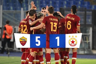 È Roma show col 5-1 al CSKA Sofia: Pellegrini ne fa due, anche Abraham a segno