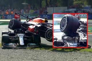 Hamilton miracolato, ha rischiato la morte con Verstappen: salvato dall'Halo (che non voleva)