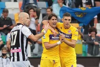 La Fiorentina vola, è quinta in classifica. Poker dell'Empoli al Bologna, Salernitana ancora ko