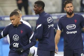 """Giroud dopo la lite con Mbappé grida al complotto: """"Volevano farmi incazzare"""""""