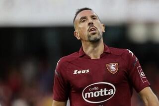 Infortunio in allenamento per Ribery, Salernitana preoccupata per gli scontri diretti