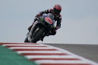 Fabio Quartararo è il campione del mondo della MotoGP 2021 a Misano nel segno di Valentino Rossi