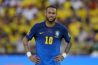"""Neymar ha rischiato la paralisi: """"Non riuscivo a muovere le gambe"""""""