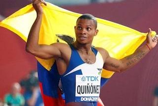 Ucciso con un colpo di pistola alla testa il velocista Álex Quiñónez, bronzo mondiale nei 200 m