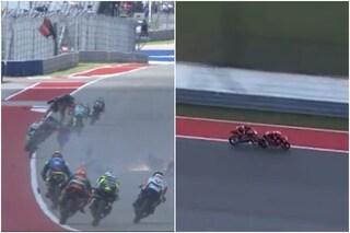 Pugno duro della MotoGP, punizione esemplare dopo l'incidente in Moto3 ad Austin