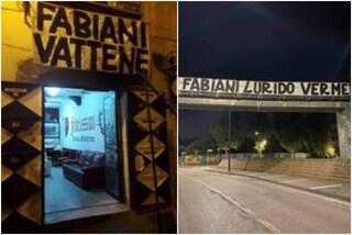 """Tensione in casa Salernitana, striscioni in città contro il ds Fabiani: """"Vattene lurido verme"""""""