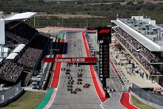 Formula 1 2021, gli orari TV su TV8 e Sky del GP USA ad Austin