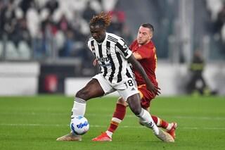 Juventus - Roma 1-0 risultato finale Serie A 2021/2022, gol di Kean