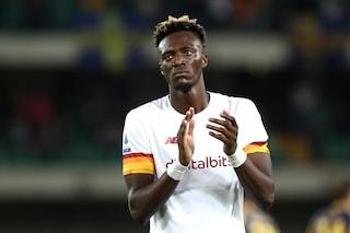 """Abraham va avanti senza sosta, otto ore di lavoro a Trigoria: """"Spero di farcela per Juve-Roma"""""""