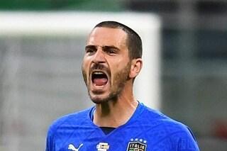 """Bonucci via subito dalla Nazionale: """"Sono arrabbiato, mi dispiace"""""""