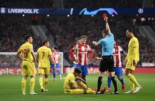 Griezmann croce e delizia: il Liverpool batte l'Atletico 3-2 e vede gli ottavi di Champions