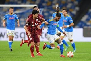 Europa e Conference League, risultati di oggi e classifica: disfatta Roma, vince il Napoli