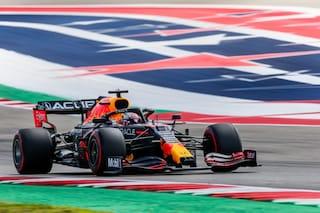 Verstappen scippa la pole del GP USA ad Hamilton: Ferrari dietro solo a Red Bull e Mercedes