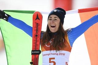 Sofia Goggia sarà la portabandiera dell'Italia alle Olimpiadi di Pechino 2022