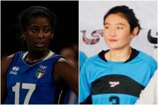 """""""Quella ragazza potevo essere io"""", l'Italia del volley si ferma in memoria di Mahjabin Hakimi"""